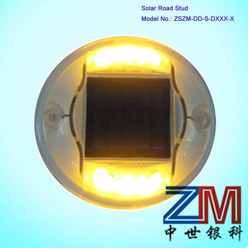 Plastic Round Solar Road Stud