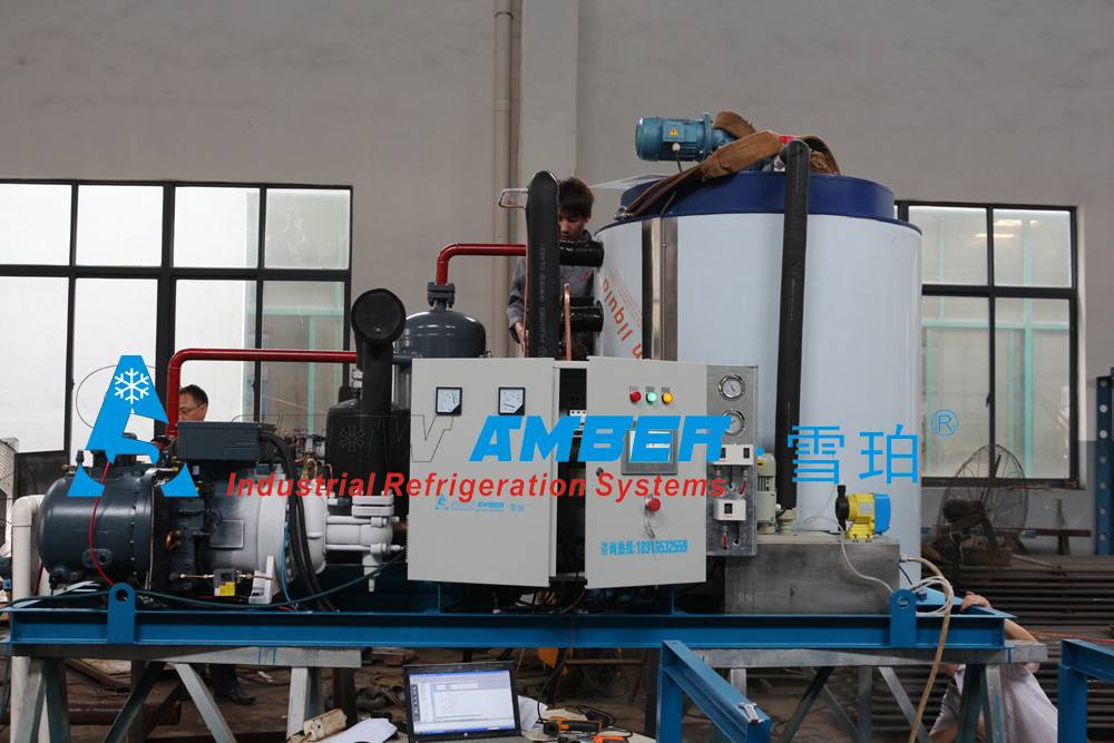 Industrial China 10T/24hr Fishing Boat Ice Machine/ ice making machines with Manufacturer for Fisher