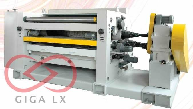 GIGA LXC-320S new Single Facer corrugated cardboard machine 2014