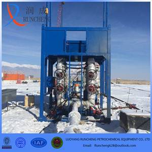 high efficiency filter desander / sand gravel separator