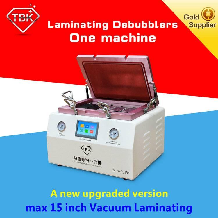 LCD Vacuum OCA Laminating Machine With Remove Bubble TBK-308