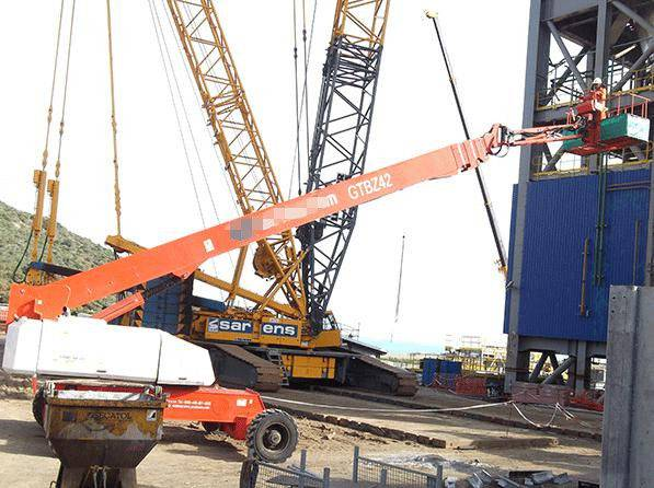 42m Building Working Platform Telescopic Boom Lifts (GTBZ42J)