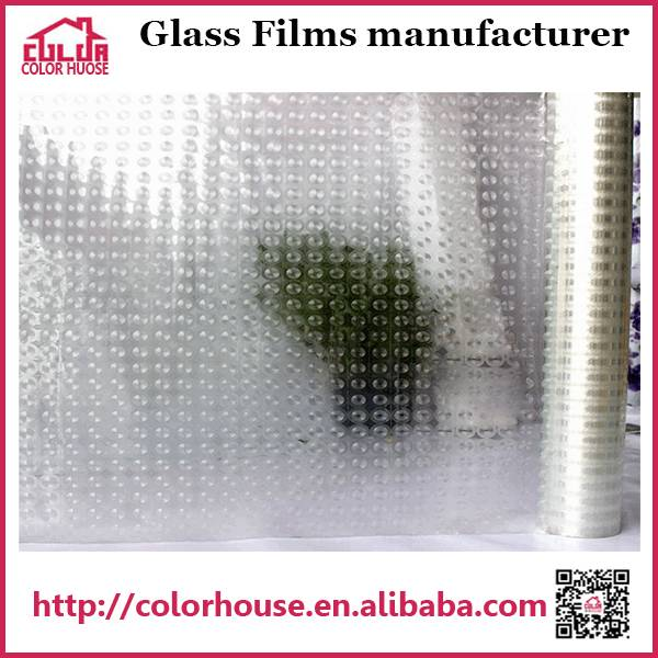 3d transparent protective film for window glass