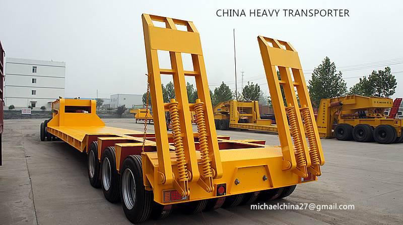 lowbed trailer,low boy, low loader