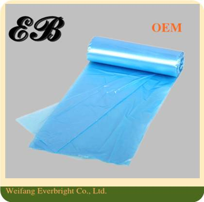 PE Star Sealed Garbage Packing Bag Plastic Waste Bag on Roll