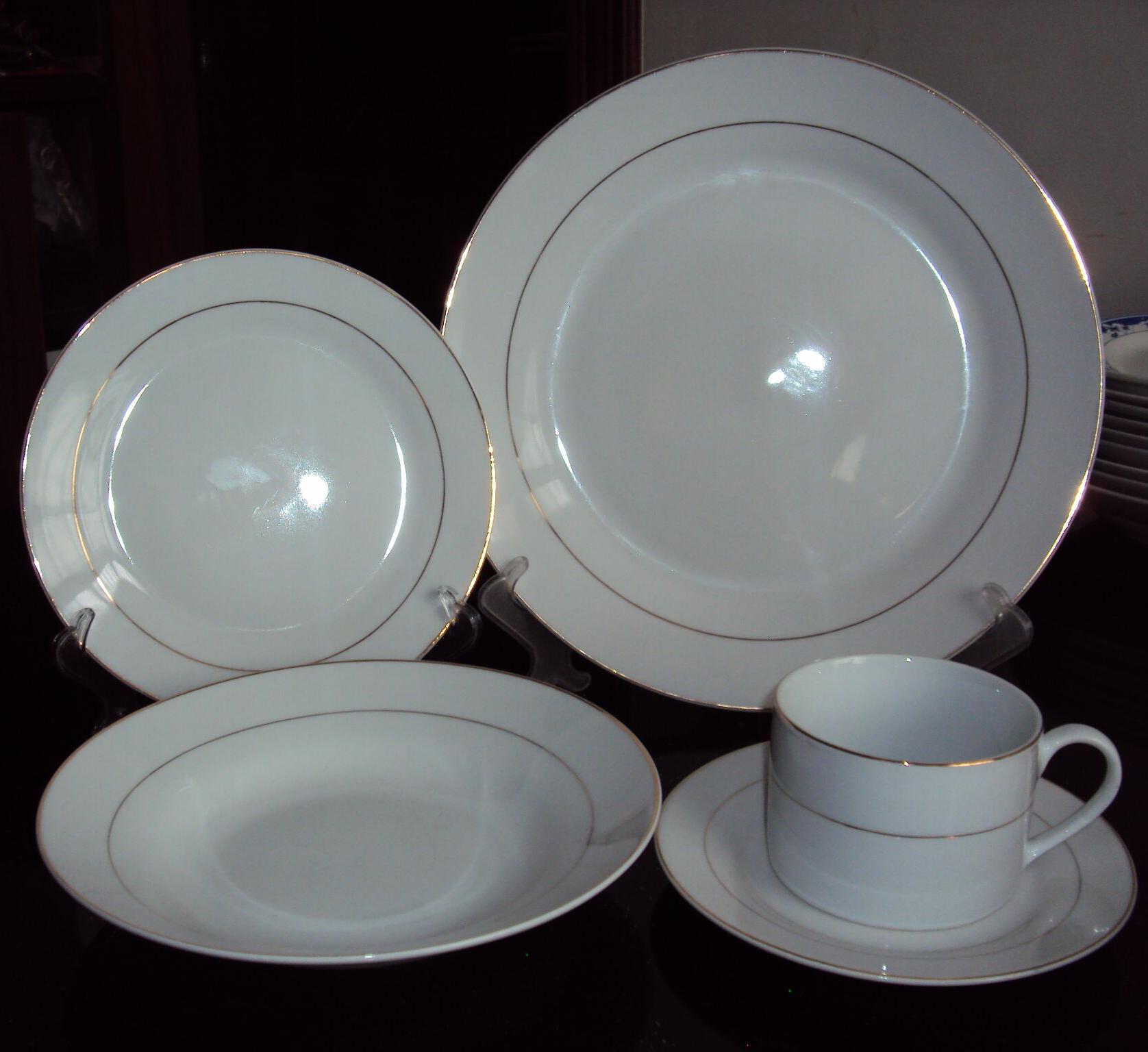 ceramic GGK design dinner set