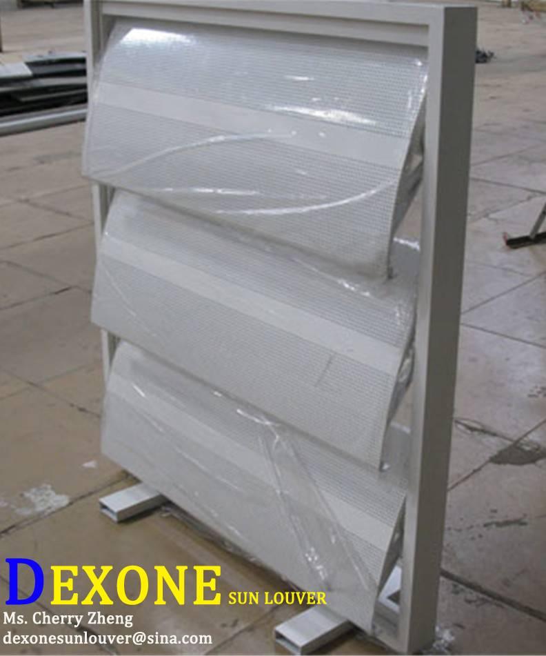 Aerowing aluminum louver sun louver sun shading