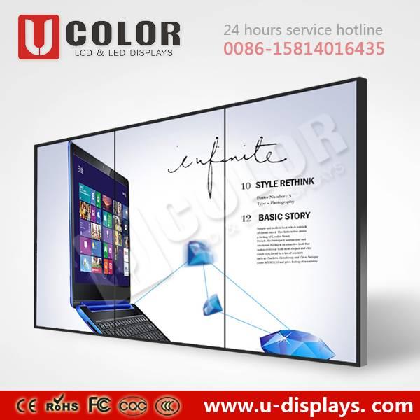 55 inch 3.5mm ultra narrow bezel LCD Video wall