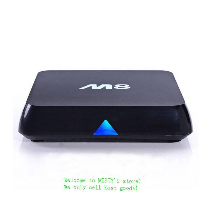 M8 Quad Core Google Android 4.4 Smart TV Box 4K HDMI XBMC