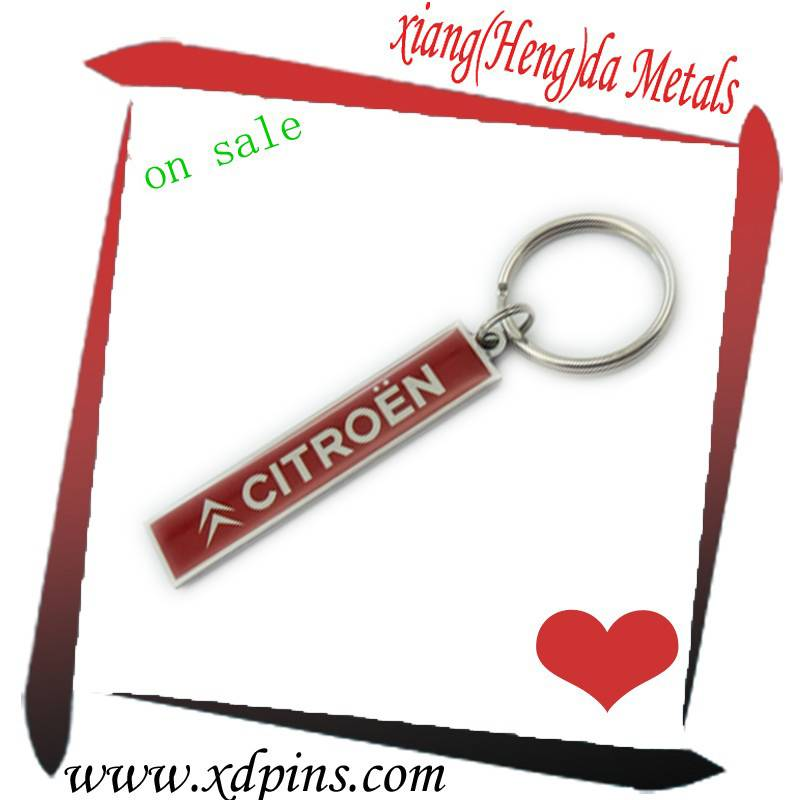 2014 high quality metal name tag keychain