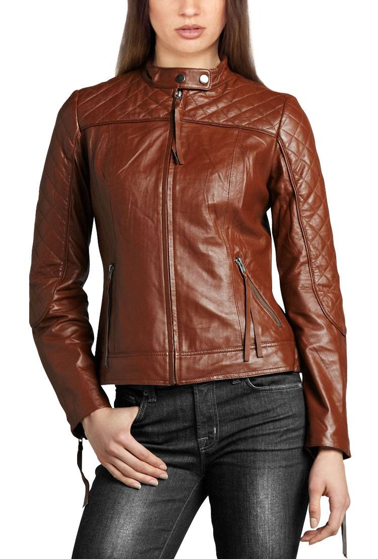 the latest design PU leather jacket