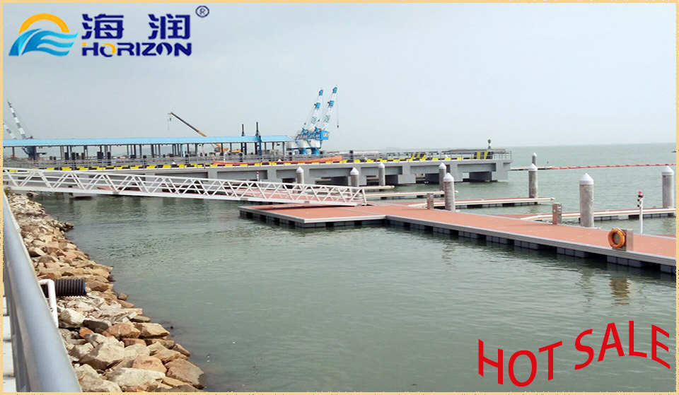 Excellent Stable Hot DIP Galvanized Steel Frame Floating Dock