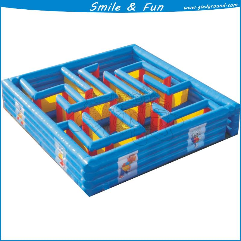Cheap inflatable maze ,inflatable bounce maze for children