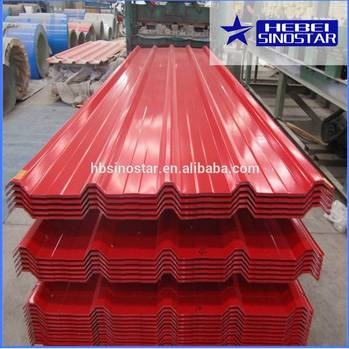 corrugated iron sheet/plate for roofing