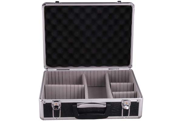 Tool Case with Resettable EVA Dividers and Foam for Protection
