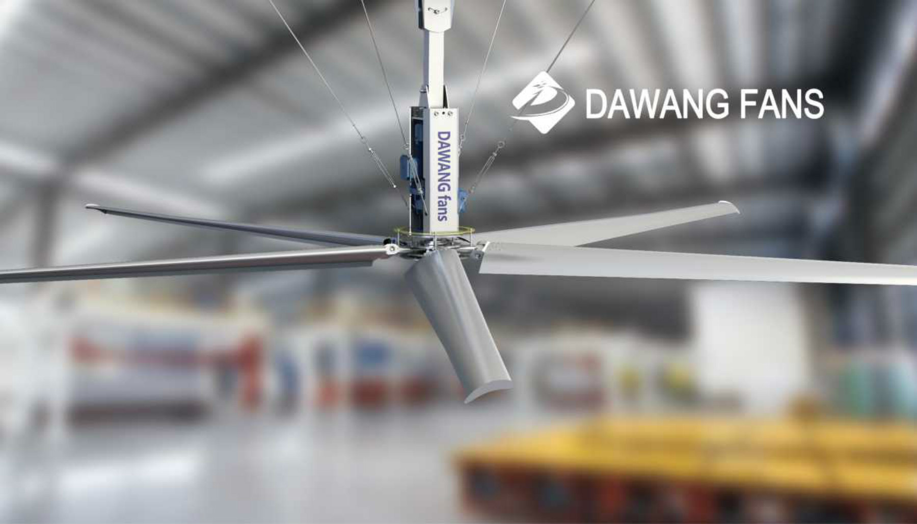 Recreation Park Outdoor Large hvls Low Price Malaysia Bigass Ceiling Fans