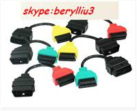 Fiat Ecu Scan Adaptors OBD Diagnostic Cable Four Colors Fiatecuscan