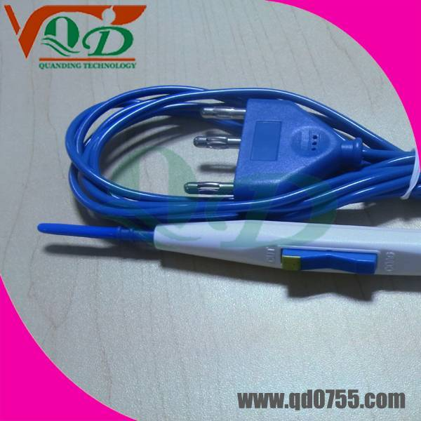 Hand control Electrosurgical pencil with CE