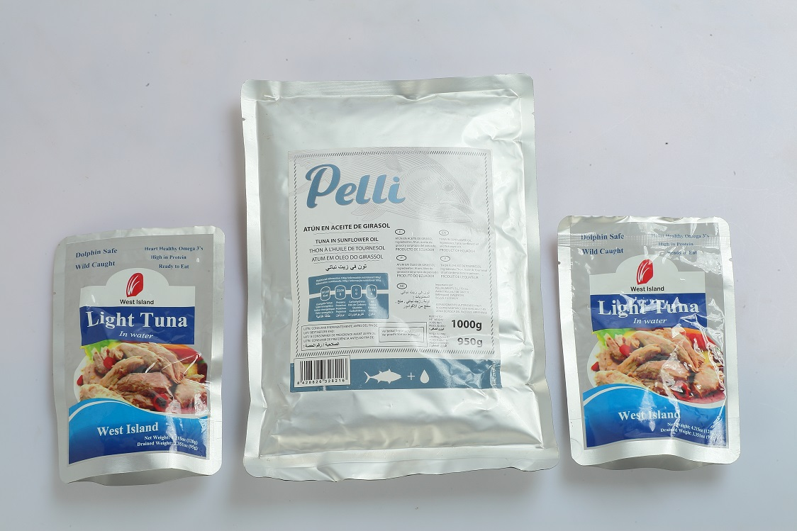 Pouch Fish Pouch Tuna/ Canned Tuna in Pouch Bag