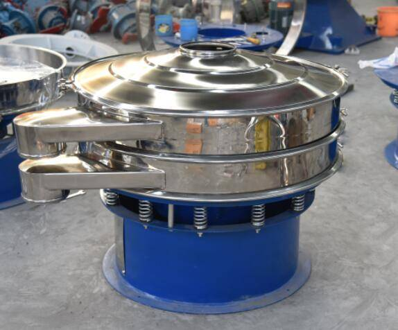 High quality stainless steel rotary vibrating screen for flour