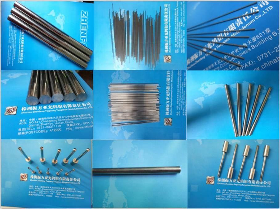 Tungsten Carbide rods Diameter 2mm 3mm 5mm Tungsten Rods