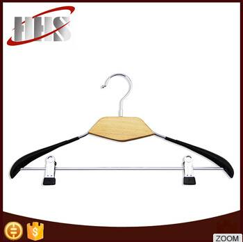 High Quality Wide Shoulder Wooden Shirt Hanger