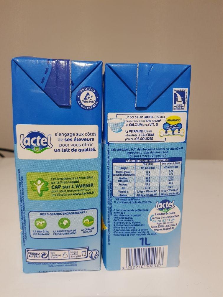 UHT Whole Milk 3.5% Fat 1l