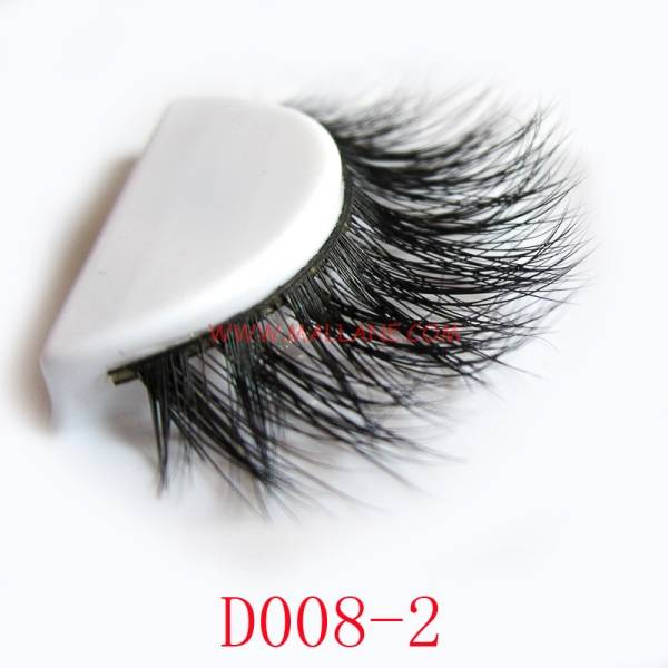 Wholesale Price 3D Mink Fur Strip Lash High Quality 3D Mink Eyelash
