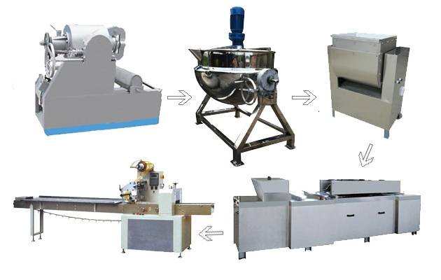 Puffed Rice Ball Product Line/Rice Crisp Processing Line