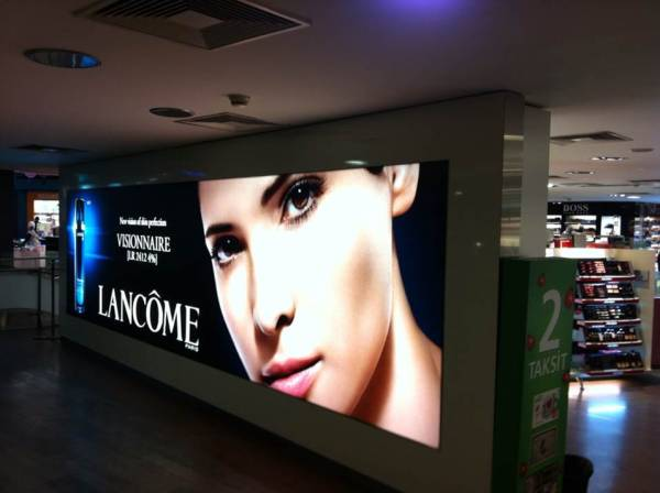 wide format backlit cloth for led box vivtek pearl brand