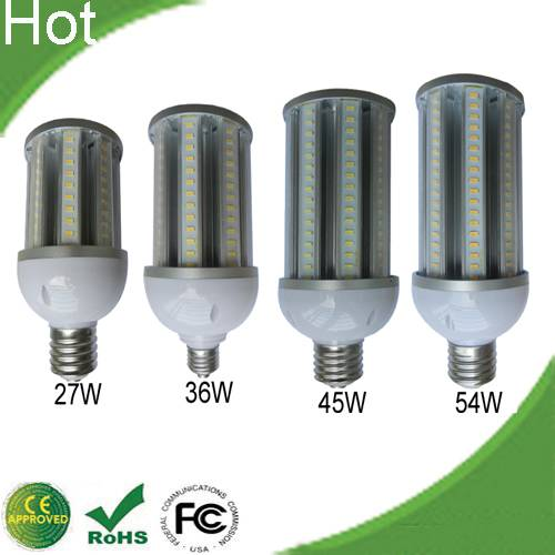 High brightness E40/E27 Samsung LED SMD5630 garden lights 27W/36w/45w/54w