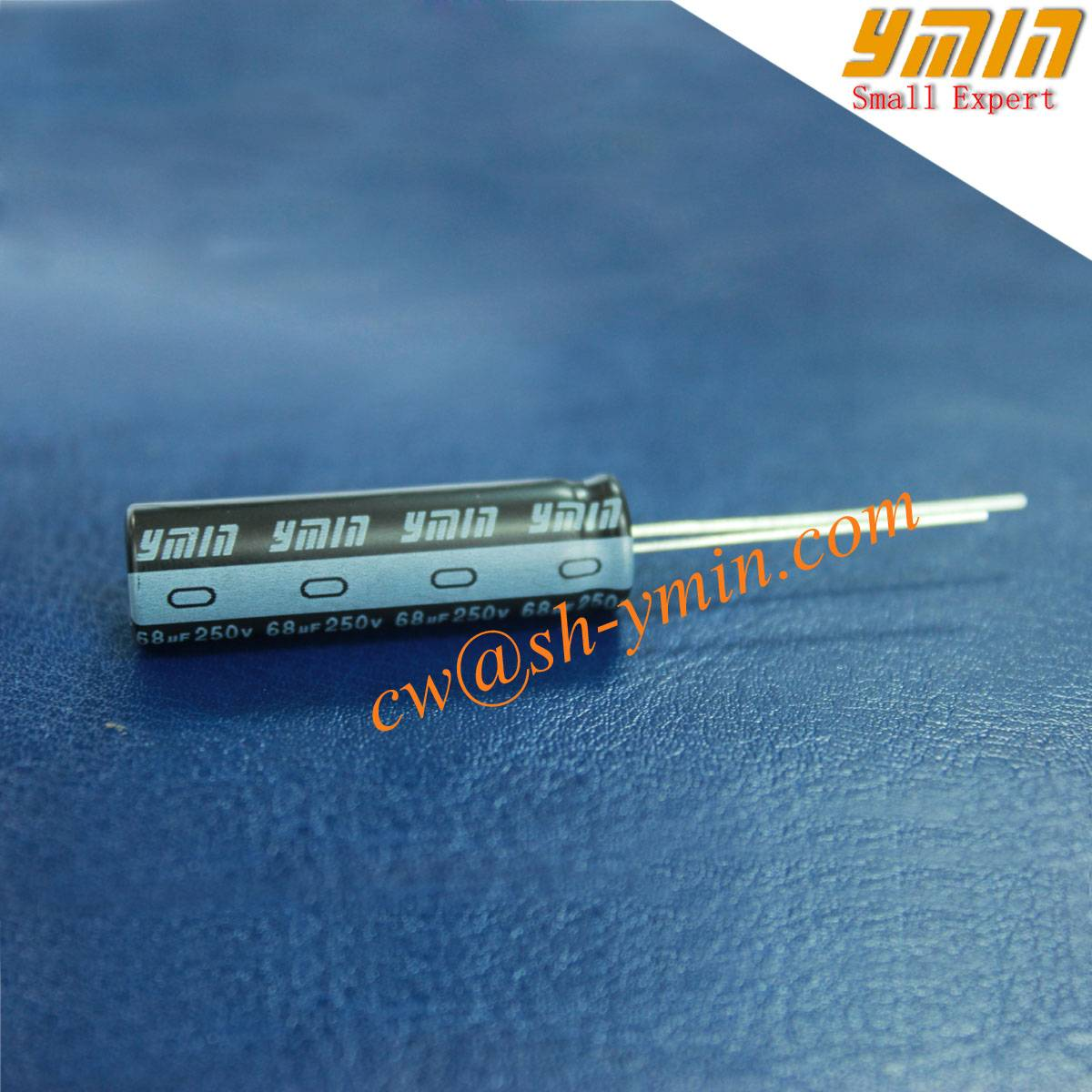 105°  6000 Hours 68uF 250V Capacitor Radial Aluminum Electrolytic Capacitor for LED Driver LED Power
