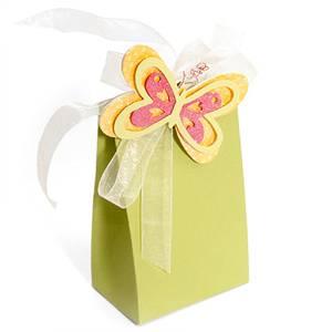 Lovely light green gift bag paper gift bag ZD-1236