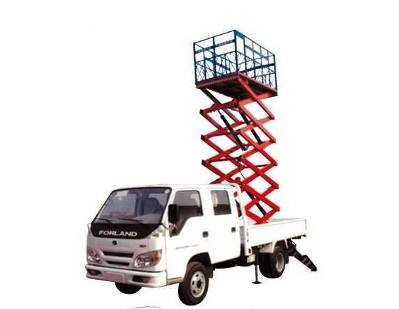 SJPT03-6 vehicle mounted lifting platform