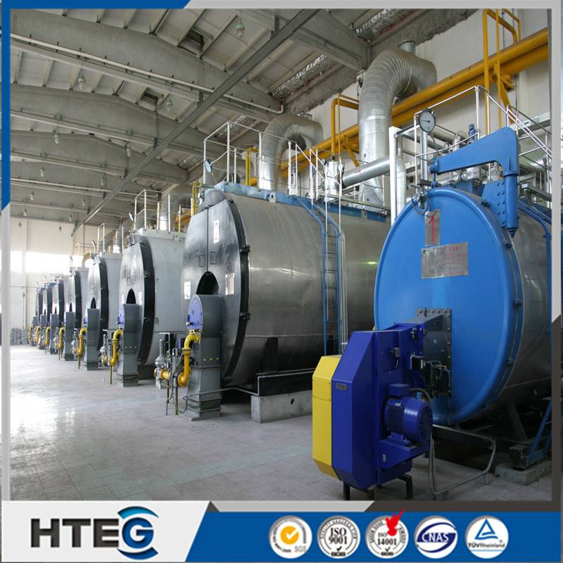 New Industrial Gas Fired Steam Boiler