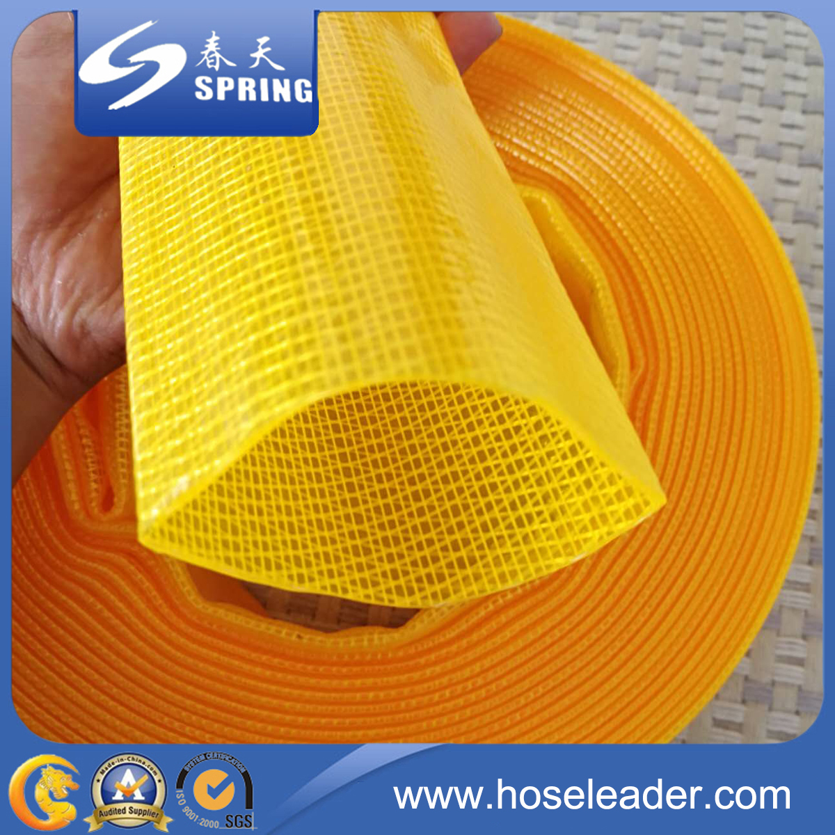 Layflat PVC Water Delivery Discharge Pipe Pump Hose
