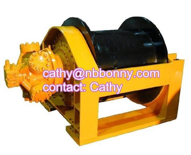 dredger hydraulic winch