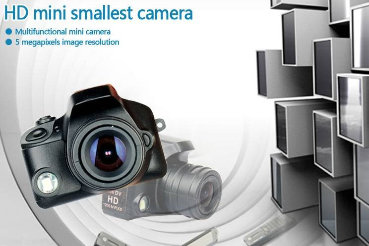 F5000 beautiful & useful HD 1280*720 AVI 5MP motion detection smallest mini finger camera mini DV LE
