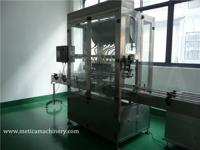 Automatic Liquid Filling Machine with 8 Filling Nozzles