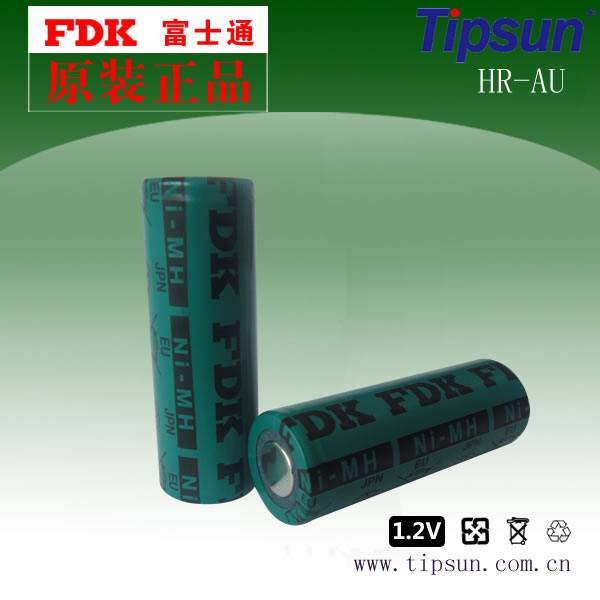 FDK HR-AU 1.2V 2700mAh 17500 Ni-MH Rechargeable Batteries Made in Japan