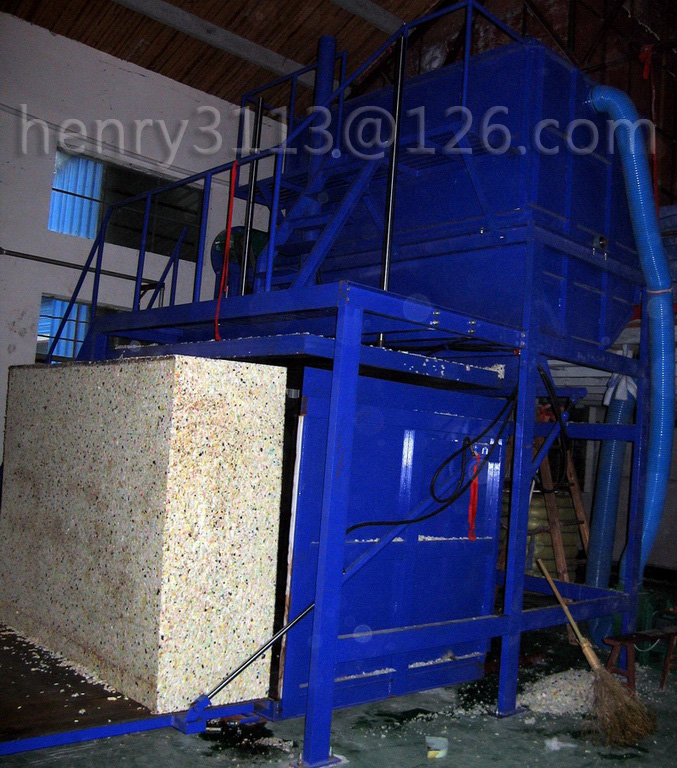 Recycle Foam Machine