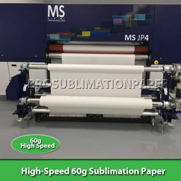 "High-Speed 60g Sublimation Paper 60""*200m"