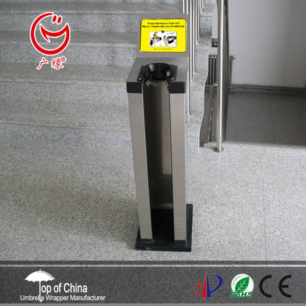 single hole wet umbrella wrapping machine