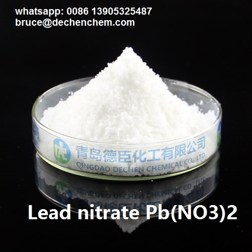 lead nitrate Pb(NO3)2 CAS : 10099-74-8