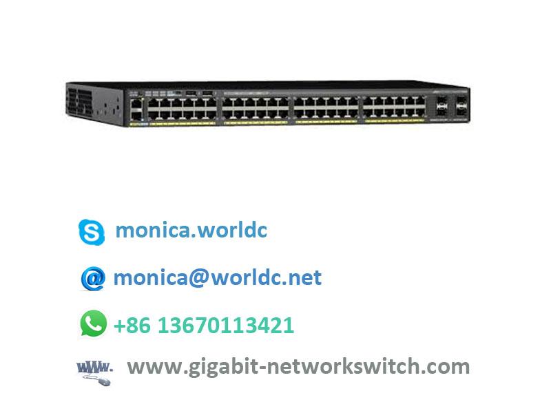 network switch cisco 2960x layer 2 switch WS-C2960X-48FPS-L