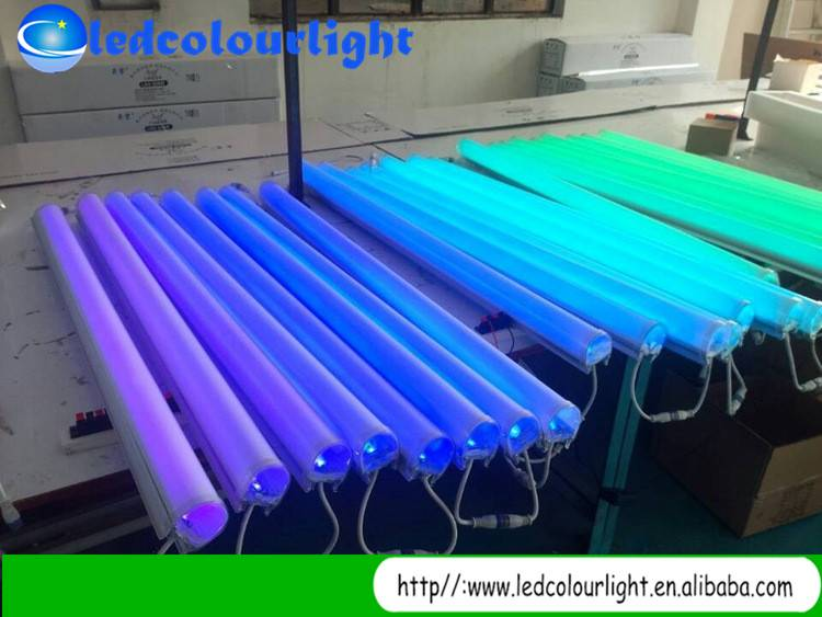 IP 67 LED Digital Tube/LED DMX tube color change waterproof led tube light for home