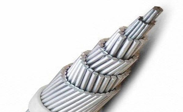 Aluminum clad steel strand