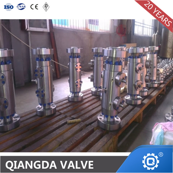 Petrol-chemical DBB ball valve Valve double block and bleed ball valve