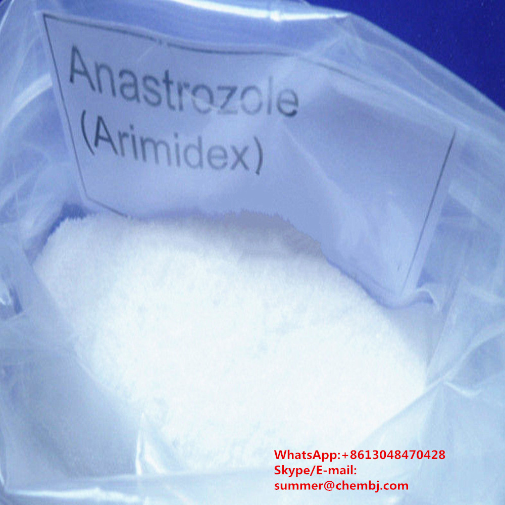 Anti Estrogen Raw Powder Anastrozoles