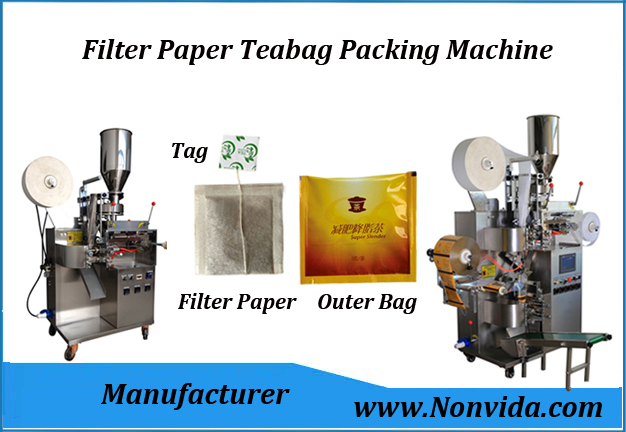 automatic tea bag packing machine for herbal filter paper tea bags